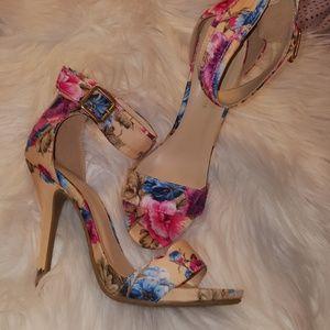 Gorgeous floral heels